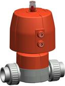 C-PVC Pneumatic Actuated  Valves