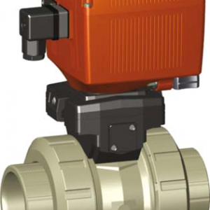 PP-H Electric Actuated Valves