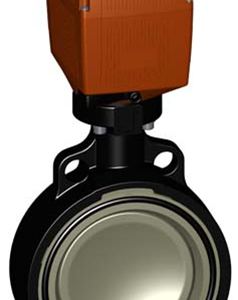 PP-H Electric Butterfly Valves