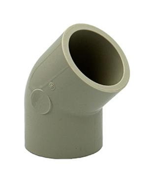 PP-H Elbow 45° Butt Weld