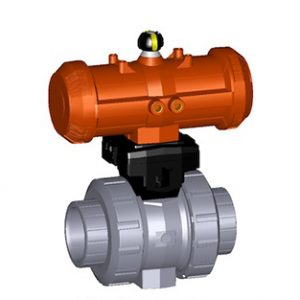 ABS Pneumatic Actuated Valves
