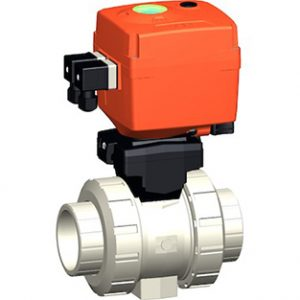 PP-H Electric Actuated Ball Valves - New Range (EA15/25/45/120)